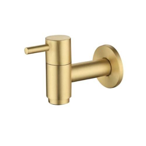 Golden Polished Brass Bibcock