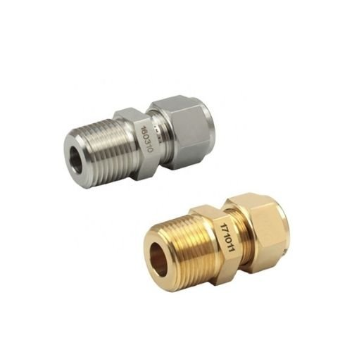 Male Connector Compression Tube Ferrule Fittings