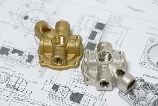 custom brass fitting and valves