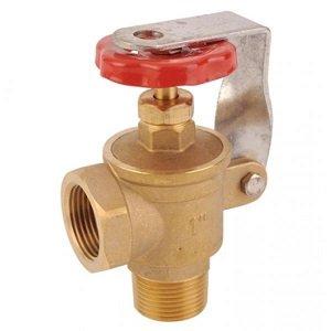 1 inch Locking Angle Brass Gate valve 3