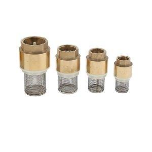 9 Custom Brass Foot Valve