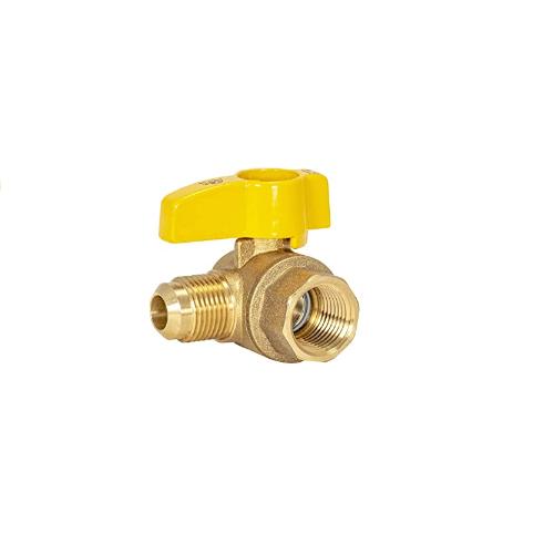 Brass Angle Gas Valve