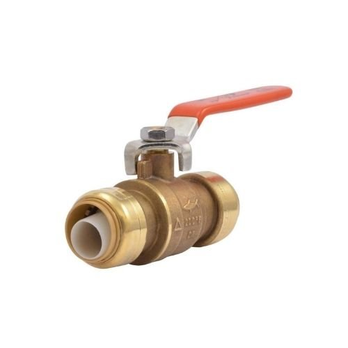 Push-to-Connect Brass Ball Valve