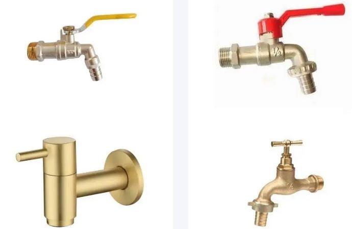 Different handles for brass bibcock