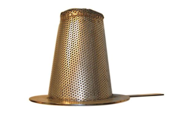 temporary brass strainers
