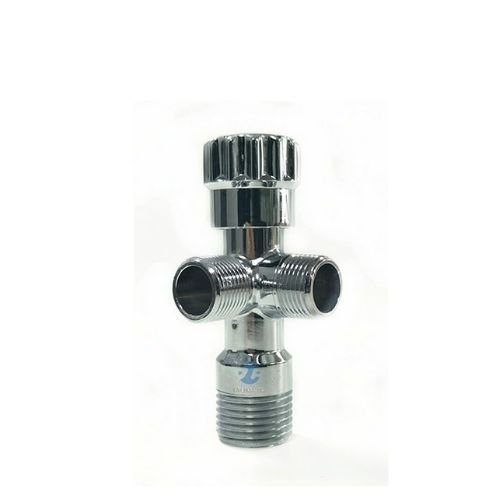 Easy Connect Tee Brass Angle Valve