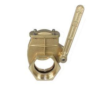 brass lever valve